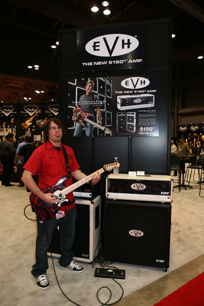 Brian McDonald EVH Fender Marketing Manager
